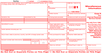 Form 1099 Correction