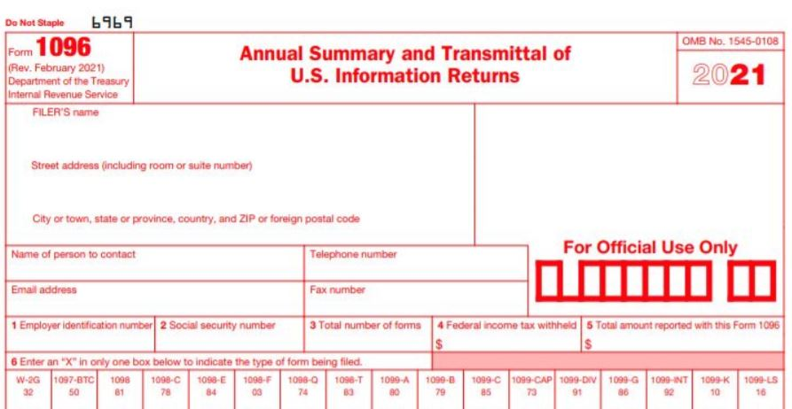 Review your Form 1099-MISC / 1096
