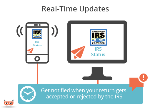 Get Real Time Updates regarding the IRS Status of your 990 Return