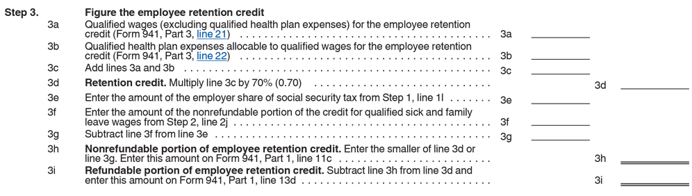 Form 941 Worksheet 1 For 2020 With Irs Covid 19 Changes